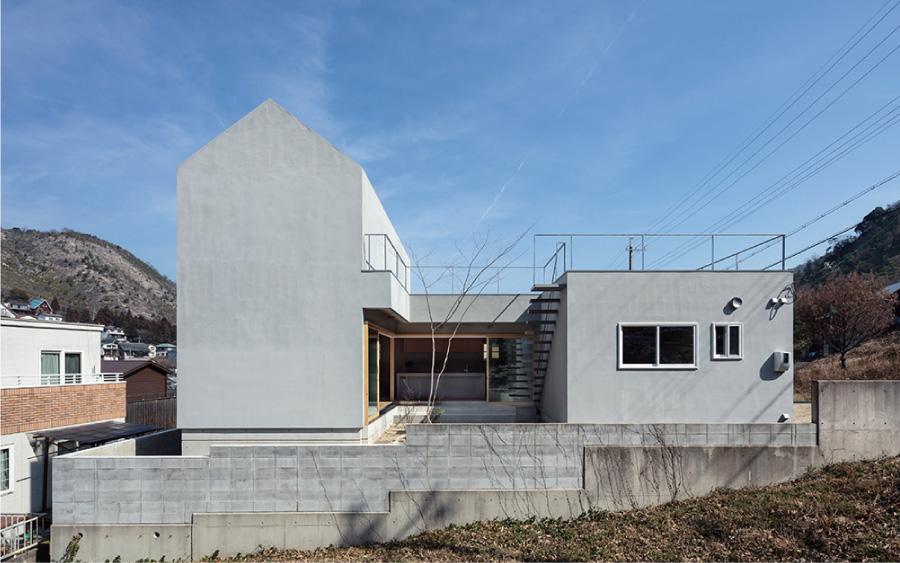 モルタルの家