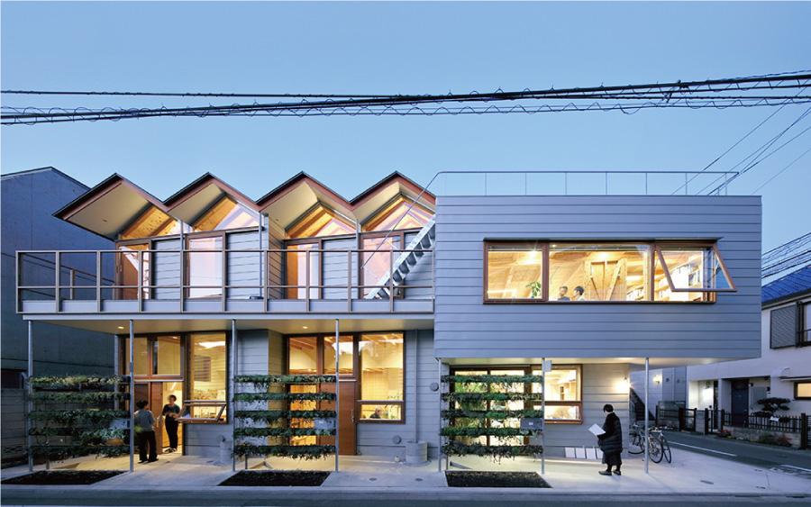 五本木の集合住宅