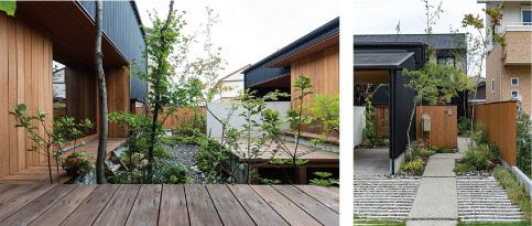 緑豊かな平屋の住まい