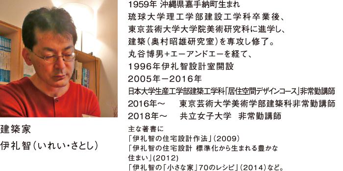 屋根コン2019審査員 建築家 伊礼智(いれい・さとし)